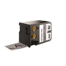DYMO Feliratozógép szalag, vinil, 41 mm x 7 m, DYMO  XTL , szürke-fekete irodai kellék