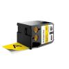 """DYMO Feliratozógép szalag, vinyl, 54 mm x 7 m, DYMO, """"XTL"""", fekete-sárga"""