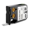 Dymo XTL 1868665, 12mm x 12mm, 250db, fekete nyomtatás / fehér alapon, eredeti szalag