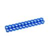 E22, 24-slot kábelrendező kék 4 mm kábelhez