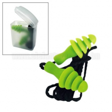 Ear Defender Füldugó, zsinóros, lamellás, mosható - dobozos kivitel (040100819)