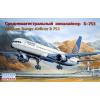 Eastern Express Boeing 757-300 American medium-haul airliner, Continental Airlines repülőgép makett Eastern express EE14426