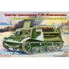 """Eastern Express """"Komsomolets"""" T-20 Russian armored artillery tractor katonai jármű makett Eastern Express EE35004"""