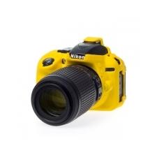 Easy Cover Szilikon Tok D5300, citromsárga fényképezőgép tok