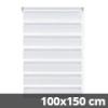 Easy fix doppel roló, fehér, ablakra: 100x150 cm