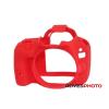 EasyCover Canon szilikon tok 100D piros