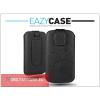 Eazy Case DECO SLIM univerzális bőrtok - Apple iPhone 4/4S/ZTE Blade II - Black - 11. méret
