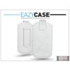 Eazy Case DECO SLIM univerzális bőrtok - Samsung i9100 Galaxy S II/HTC Desire 210 - fehér - 12. méret