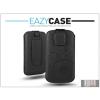 Eazy Case DECO SLIM univerzális bőrtok - Samsung i9300 Galaxy S III/HTC Desire 600/Nokia Lumia 930 - fekete - 16. méret