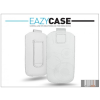 Eazy Case DECO SLIM univerzális bőrtok - Sony Ericsson Xperia mini/Xperia X10 mini - fehér