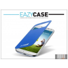 Eazy Case Samsung i9500 Galaxy S4 S View Cover flipes hátlap on/off funkcióval - EF-CI950BCEGWW utángyártott - light blue