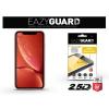 Eazyguard Apple iPhone XR gyémántüveg képernyővédő fólia - Diamond Glass 2.5D Fullcover - fekete