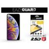 Eazyguard Apple iPhone XS Max gyémántüveg képernyővédő fólia - Diamond Glass 2.5D Fullcover - fekete