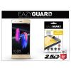 Eazyguard Huawei/Honor 9 gyémántüveg képernyővédő fólia - Diamond Glass 2.5D Fullcover - gold