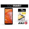 Eazyguard Nokia 3.1 Plus gyémántüveg képernyővédő fólia - Diamond Glass 2.5D Fullcover - fekete