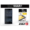 Eazyguard Nokia 3 gyémántüveg képernyővédő fólia - Diamond Glass 2.5D Fullcover - fekete
