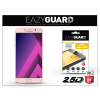 Eazyguard Samsung A720F Galaxy A7 (2017) gyémántüveg képernyővédő fólia - Diamond Glass 2.5D Fullcover - rose gold