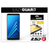 Eazyguard Samsung A730F Galaxy A8 Plus (2018) gyémántüveg képernyővédő fólia - Diamond Glass 2.5D Fullcover - fekete