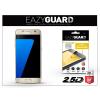 Eazyguard Samsung G930F Galaxy S7 gyémántüveg képernyővédő fólia - Diamond Glass 2.5D Fullcover - gold