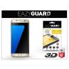 Eazyguard Samsung G935F Galaxy S7 Edge gyémántüveg képernyővédő fólia - Diamond Glass 3D Fullcover - gold