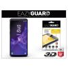 Eazyguard Samsung G960F Galaxy S9 gyémántüveg képernyővédő fólia - Diamond Glass 3D Fullcover - fekete