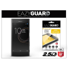 Eazyguard Sony Xperia XZ (F8331)/Sony Xperia XZs (G8231/G8232) gyémántüveg képernyővédő fólia - Diamond Glass 2.5D Fullcover - fekete