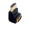 ECH-806 HDMI aljzat/dugó 90 fokos