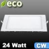 ECO LED panel (négyzet alakú) 24 Watt - hideg fehér fényű