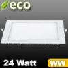 ECO LED panel (négyzet alakú) 24 Watt - meleg fehér fényű