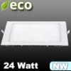 ECO LED panel (négyzet alakú) 24 Watt - természetes fehér