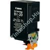 Eco-Pixel Canon BX-20 BK fekete (BK-Black) kompatibilis (utángyártott) tintapatron