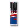 """EDDING """"140 S"""" OHP 0,3 mm 4 különböző szín alkoholos marker készlet"""