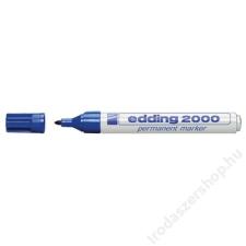 """EDDING Alkoholos marker, 1,5-3 mm, kúpos, EDDING """"2000"""", kék filctoll, marker"""