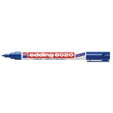 "EDDING Bőrjelölő marker, 1 mm, kúpos,  ""8020"", kék filctoll, marker"