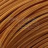 EDISON foglalatok bekötésére 2x0,75mm2 Textilkábel réz kör fonattal