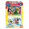 Educa Disney Mickey egér Club puzzle, 2x48 darabos