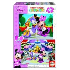 Educa Disney Minnie egér puzzle, 2x48 darabos puzzle, kirakós
