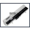 Eee PC 1005HR 6600 mAh 9 cella fehér notebook/laptop akku/akkumulátor utángyártott