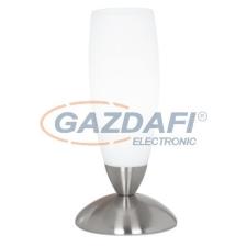 EGLO 82305 Asztali 1*40W E14 m.nikkel/fehér Slim világítás