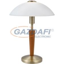EGLO 87256 Aszt.E14 1*60W bronz/dió érint.Solo 1 világítás