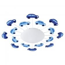 EGLO 92146 VIKI 1 gyerek fali-mennyezeti lámpa, kék színben, MAX 1X60W teljesítménnyel, E27-es foglalattal, kapcsoló nélkül, IP20 védettséggel ( EGLO 92146 ) világítás