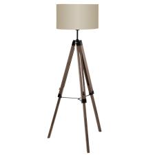 EGLO 94326 LANTADA Vintage állólámpa, dió színben, MAX 1X60W teljesítménnyel, E27-es foglalattal, zsinórkapcsolóval, IP20 védettséggel ( EGLO 94326 ) világítás