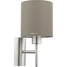 EGLO 94925 Fali E27 60W szürkésbarna/matt nikkel Pasteri világítás