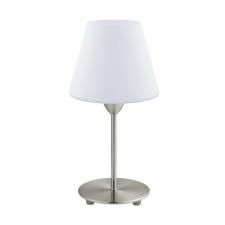 EGLO 95785 DAMASCO 1 beltéri asztali lámpa, matt nikkel színben, MAX 1X60W teljesítménnyel, E14 foglalattal, zsinórkapcsolóval, IP20 védettséggel ( EGLO 95785 ) világítás