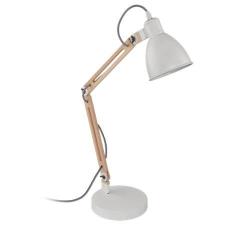 """EGLO Asztali lámpa, 28 W, EGLO """"Torona 1"""", fehér világítás"""