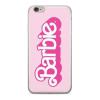 egyéb Barbie szilikon tok - Barbie 014 Apple iPhone 5G/5S/5SE pink (MTPCBARBIE4601)