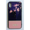 egyéb BH646 Telefon tok BLU-RAY Üveg Part Pink Flower Iphone 7/8
