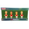 egyéb Football Heroes: Mini focista figura 4db-os szett 10cm