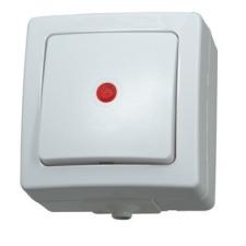 egyéb Kopp nyomógombos villanykapcsoló, jelzőfénnyel villanyszerelés