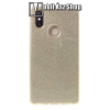 egyéb Műanyag védő tok / hátlap - szilikon szegély, csillogó, flitteres hátlap - ARANY - Xiaomi Mi 8 SE